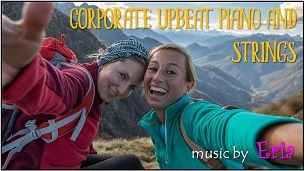 """Corporate Upbeat Piano and Strings"""" border ="""