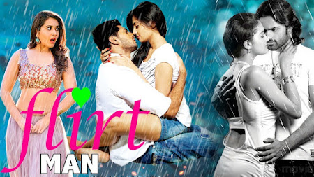 Poster Of Flirt Man Full Movie in Hindi HD Free download Watch Online 720P HD