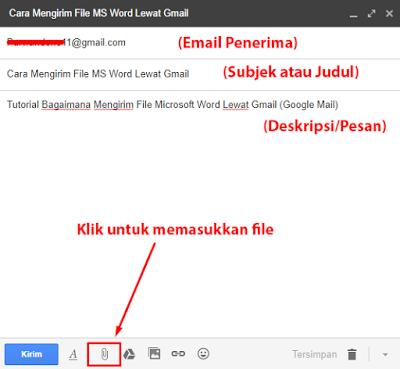 Cara Kirim File Ms Word Lewat Gmail Dan Yahoo Espada Blog