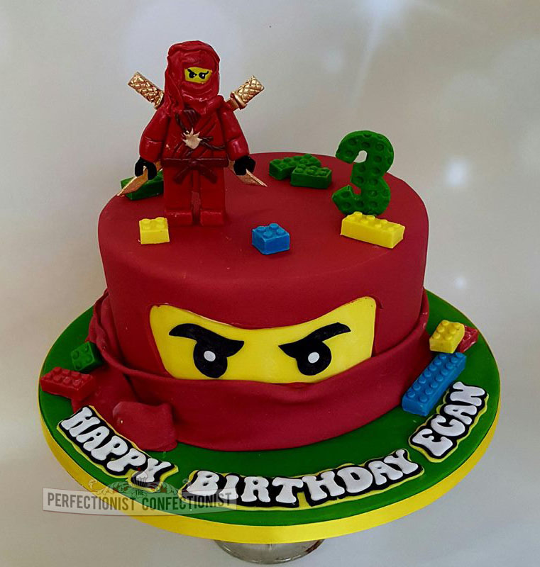 The Perfectionist Confectionist Egan Ninjago Lego Birthday Cake
