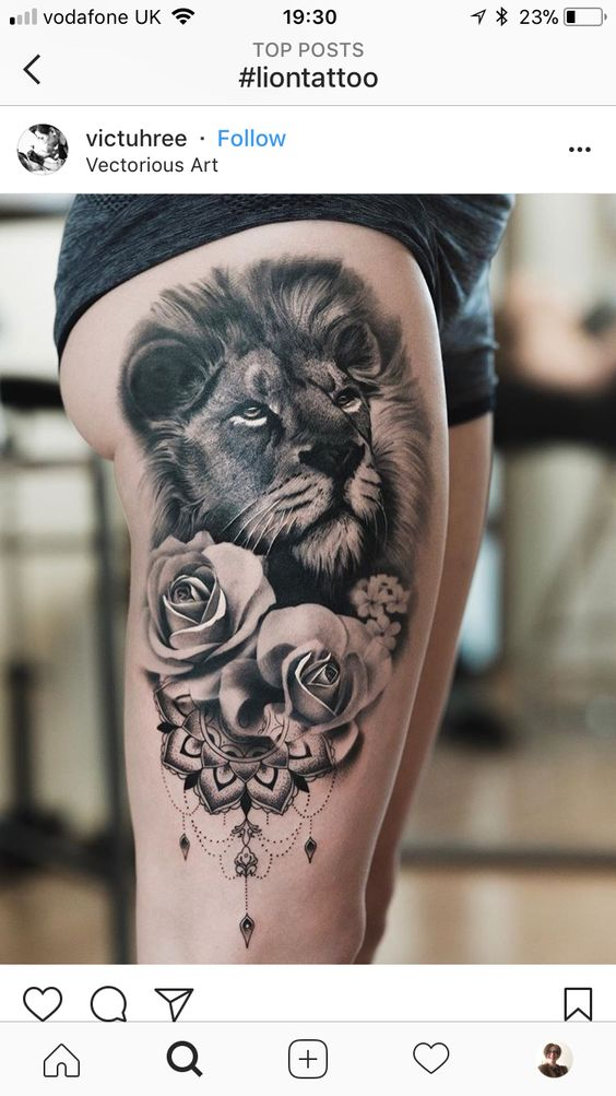 tiger-tattoos-for-girls-11 15 Most Amazing Tiger Tattoos For Women tattoo