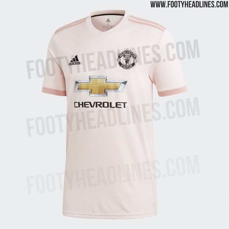low priced f4e57 90791 Manchester United 18-19 Away Kit Released - Footy Headlines