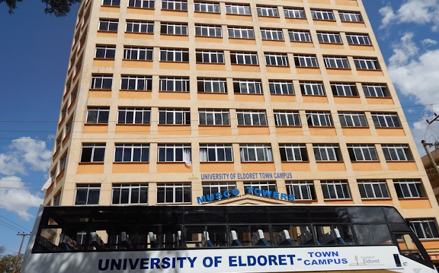List of Courses Offered at The University of Eldoret
