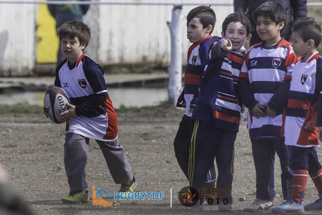 Clinica de Rugby Infantil en Ushuaia