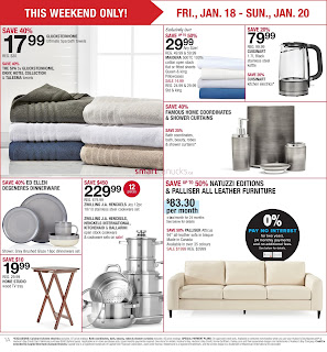 Home Outfitters Weekly Flyer January 18 - 24, 2019