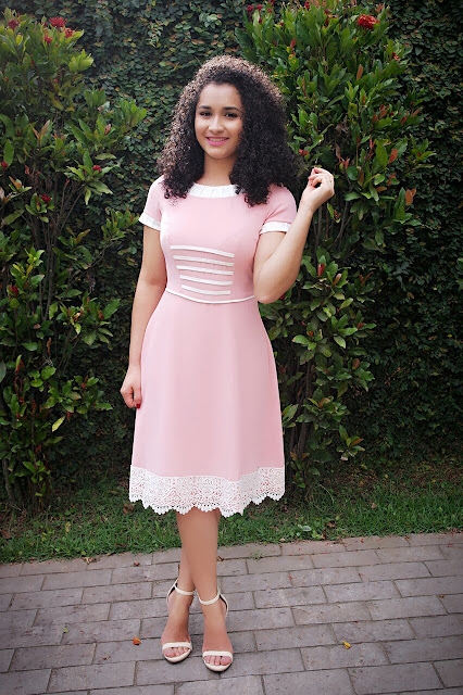 LOOK DO DIA VESTIDO LADY LIKE KAULY MODA EVANGÉLICA