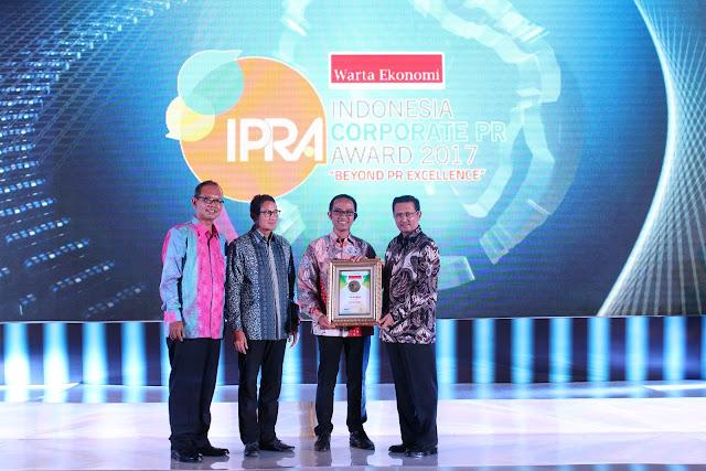 AHM Raih 3 Penghargaan Indonesia Corporate Public Relations Award 2017