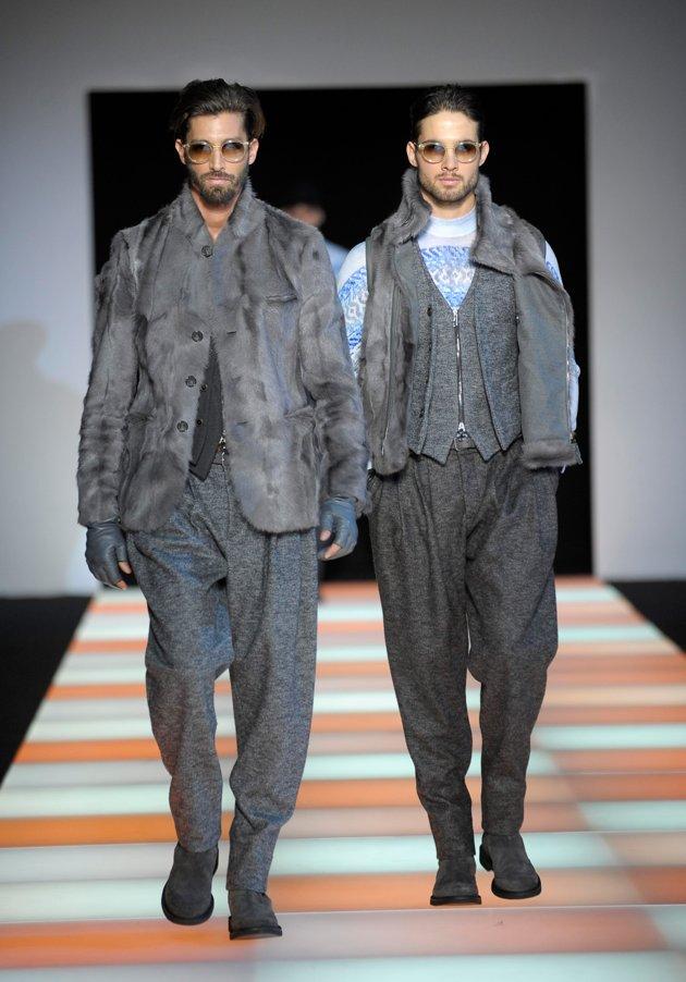 Giorgio Armani -Men Fall 2012 Fashion Week in Milan ...