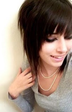 short emo girl hairstyles Emo Girl   Pictures  Gallery