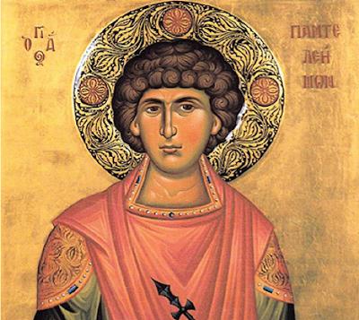 Ο Άγιος Παντελεήμων AgiosPanteleimon