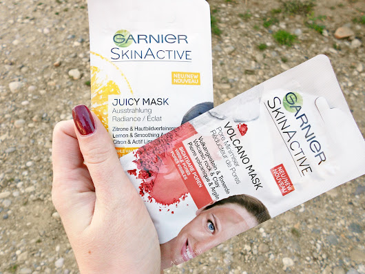 Art of Beauty: Garnier SkinActive maske za lice - Volcano i Juicy