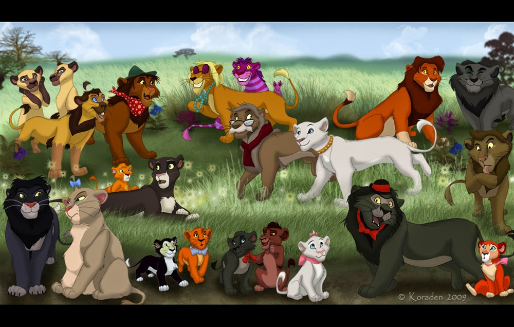 Disney Cat Cartoon Anime