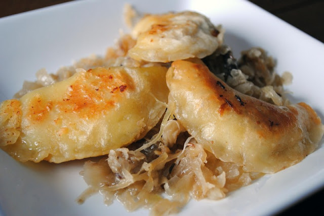 Pierogis are polish dumplings (ball of dough usually with a filling, which is boiled and then pan fried).