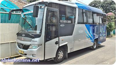 Sewa Bus Medium Pariwisata Eksekutife Di Jakarta