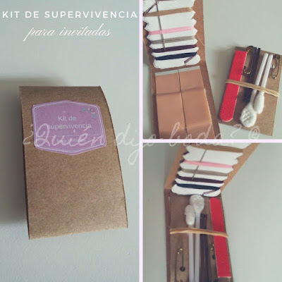 Kit de supervivencia para invitadas