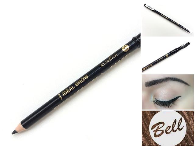 BELL COSMETICS Secretale Pencil Ideal Brow