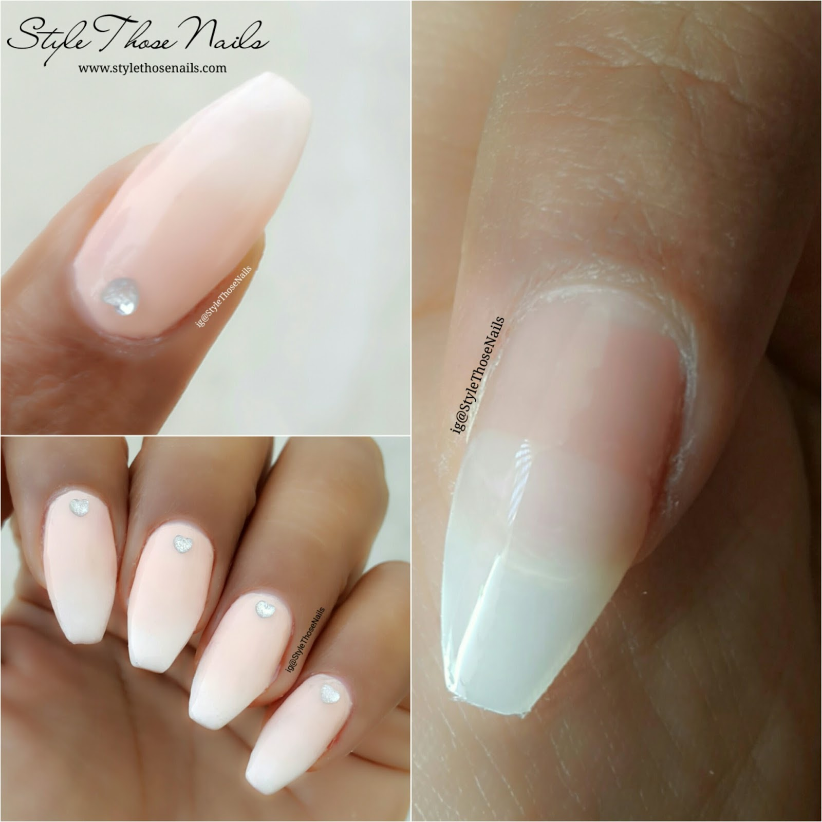 Style Those Nails: Babyboomer / Faded French Gel Nails and Bridal ...