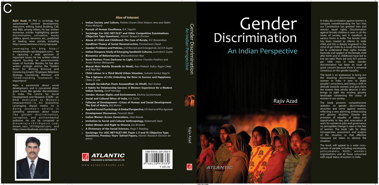 "Dream Book, ""Gender Discrimination: An Indian Perspective ..."