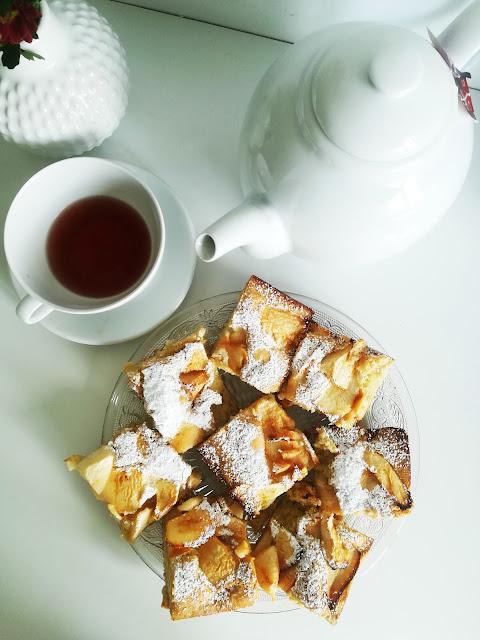 Ciasto dla leniwych - jabłecznik/szarlotka dla leniwych