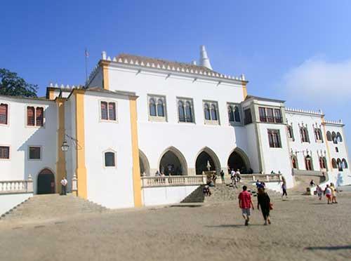 Palácio Nacional de Sintra, Portugal.
