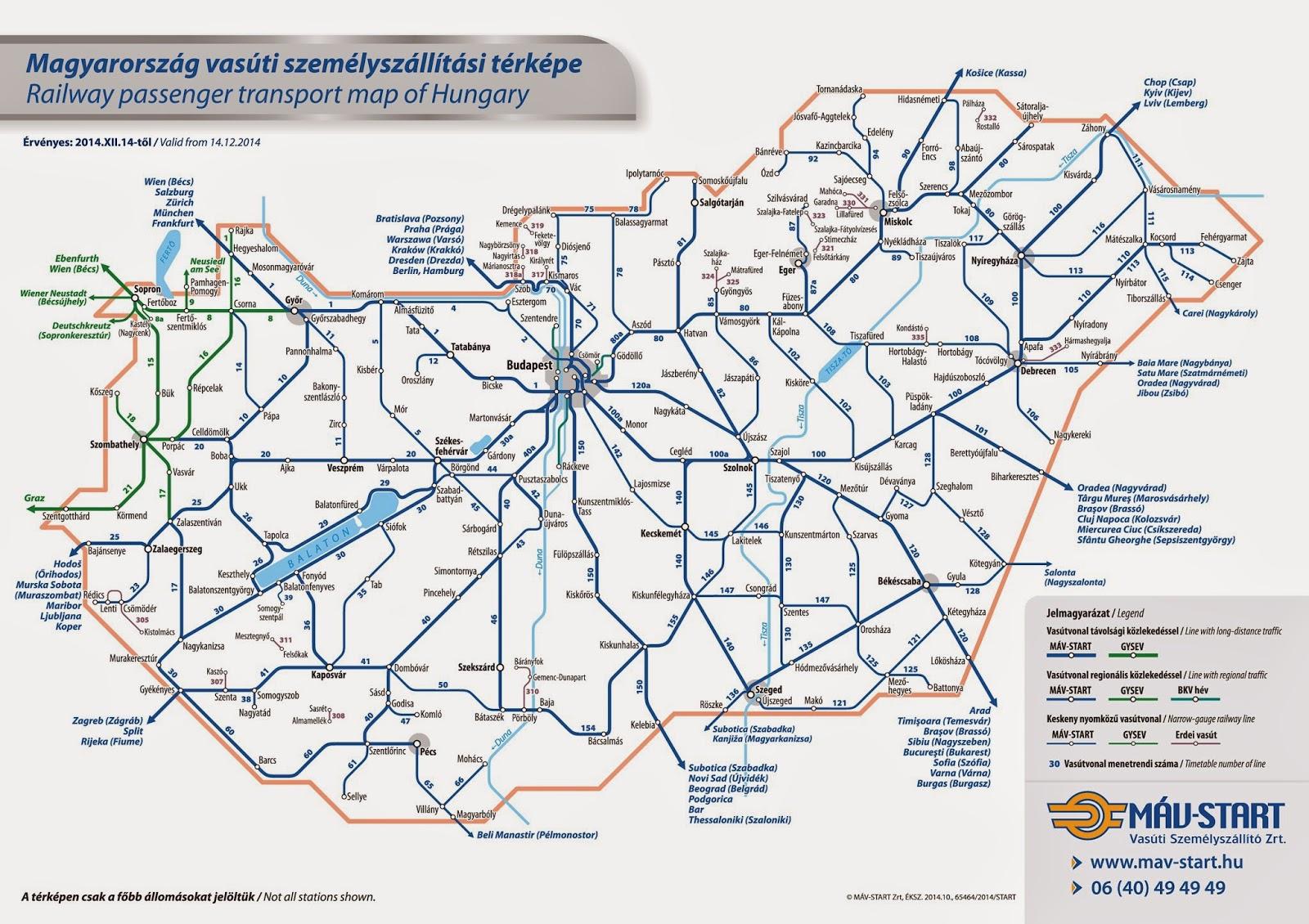máv térkép magyarország RegionalBahn: Menetrend jövőre is máv térkép magyarország