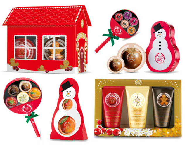 Christmas Gifts From The Body Shop