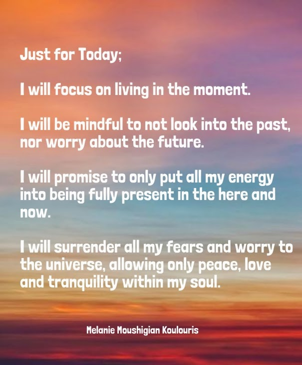 Just For Today Quotes Positive & Inspirational Quotes: Just for Today. Just For Today Quotes