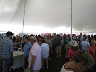 Front Tent, 2011 Vermont Cheesemakers Festival
