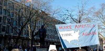 مظاهرات ضد ترامب في لندن- أرشيفية