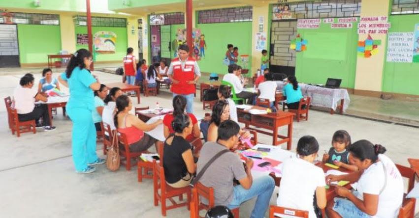 MIDIS - Qali Warma capacitó a 2 092 miembros de Comités de Alimentación Escolar de Amazonas - www.qaliwarma.gob.pe