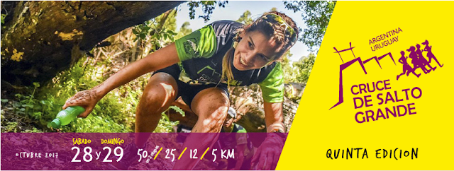 50k 25k 12k 5k Cruce de Salto Grande (trail run binacional, 28y29/oct/2017)