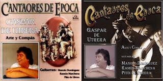 """GASPAR DE UTREA; MANUEL DOMÍNGUEZ, PITÍN DE UTRERA, RAMÓN MARCHENA """"CANTAORES DE ÉPOCA (ARTE Y COMPÁS)"""" CD 1996 FODS RECORDS"""
