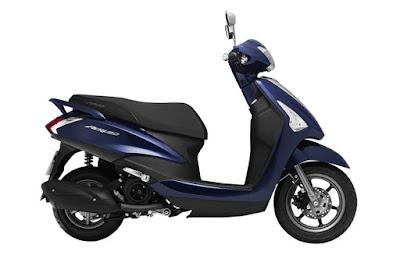 2016 Yamaha Acruzo 125cc dark blue side image