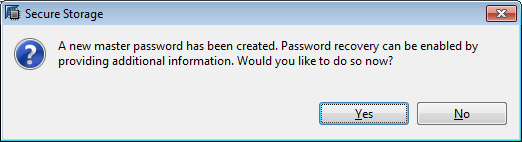 HANA Studio master password