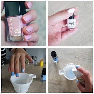 Clothes & Dreams: Instadiary: marble nails and other nail art