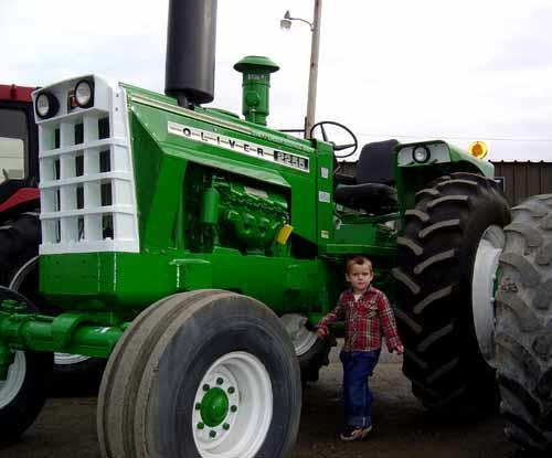 Big Tractors Car Models