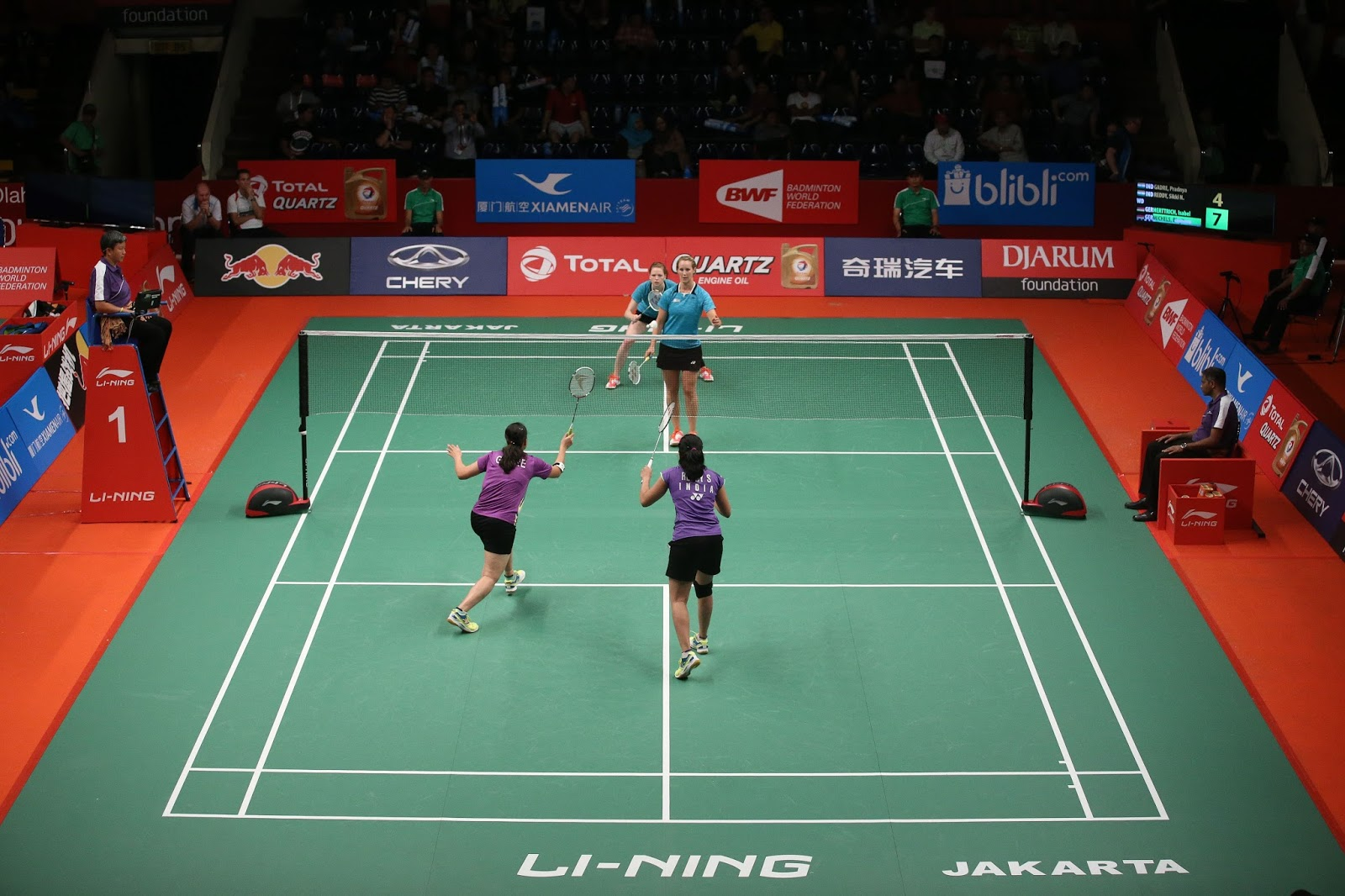 Li Ning Badminton Equipment
