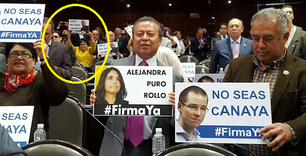 """""""AMLO no seas lagarto"""": Carmen Salinas protesto contra partidos de oposición por no donar dinero"""