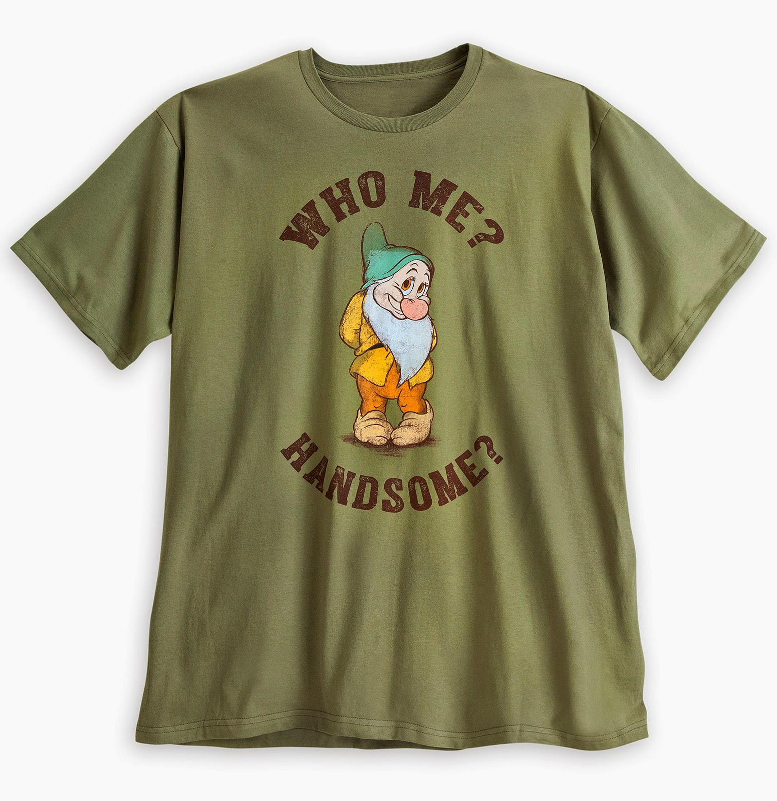 1abcb70667 Seen December 2014 online at Disney Store. 100% organic cotton. Color   brown. Retail  19.95. Same shirt in plus size. Color  green.  22.95.
