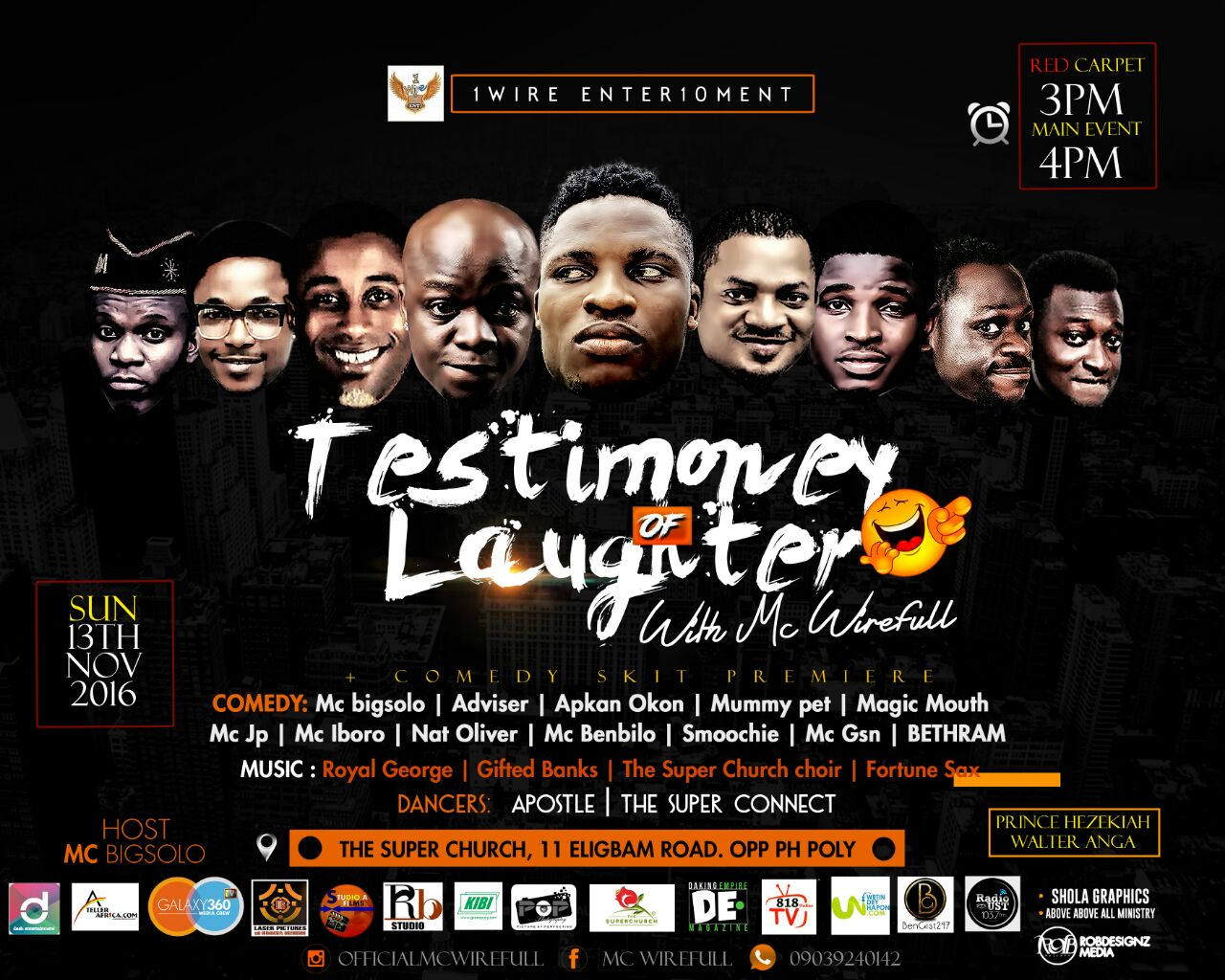 Testimony Of Laughter With Mc Wirefull