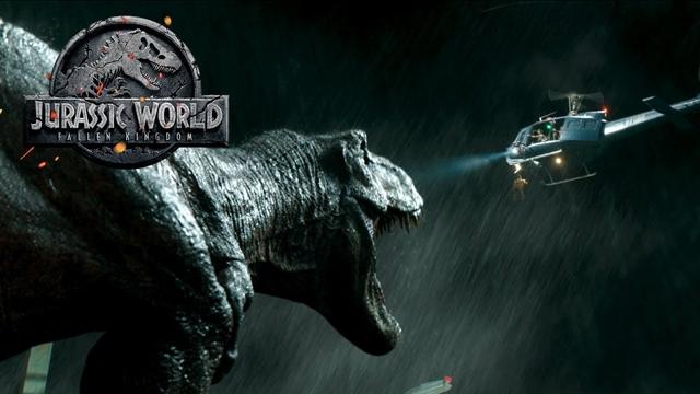 """filme """"Jurassic World - Reino Ameaçado"""""""