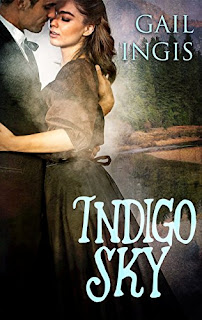 Indigo Sky, a thrilling historical romance by Gail Ingis
