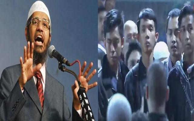 Dr. Zakir Naik di Bekasi; 7 Pemuda Ini Bersyahadat Bersama