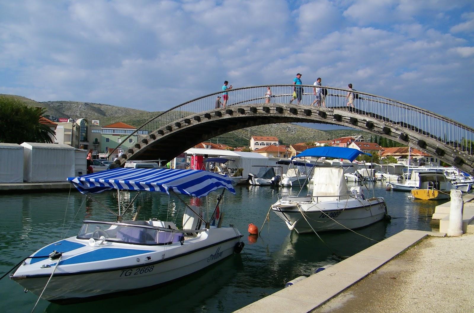 Trogir Chorwacja Marina Port Most
