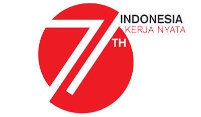 Logo HUT RI ke-71 Kemerdekaan Republik Indonesia