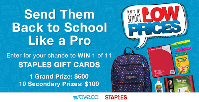 back to school giveaway canada