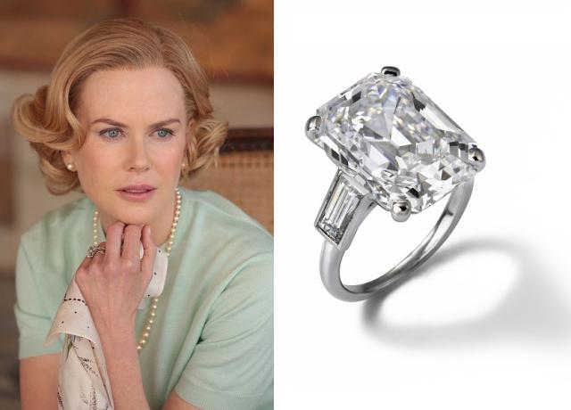 Grace de Monaco, filme jóias da Cartier, figurino, Nicole Kidman, anel de noivado
