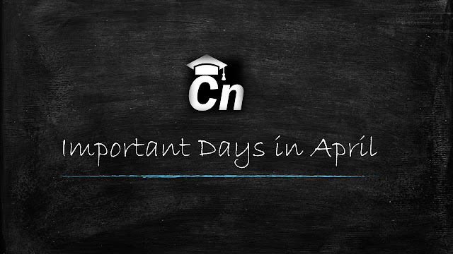 Important Days In April, Careerneeti Logo