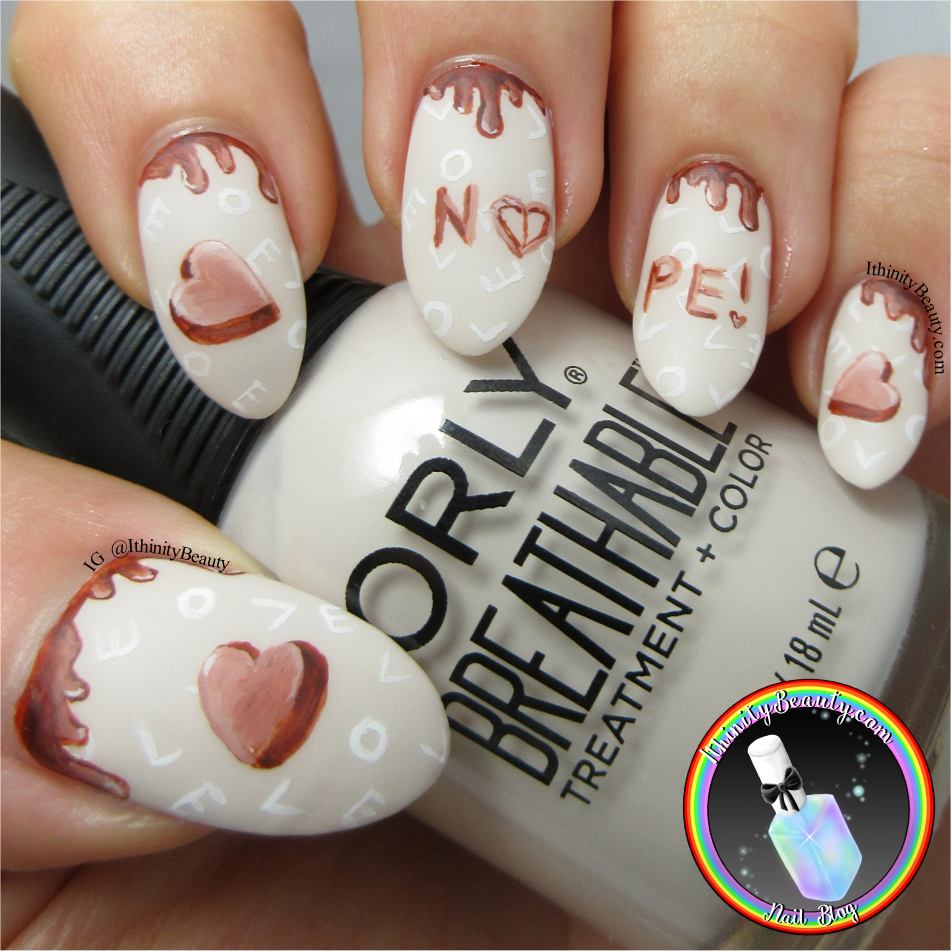 Chocolate Valentines Day Nails Ithinitybeauty Nail Art Blog
