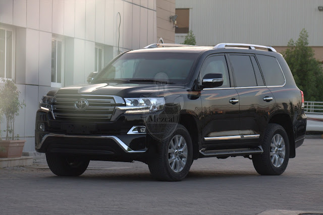 Armored Toyota Land Cruiser 2016
